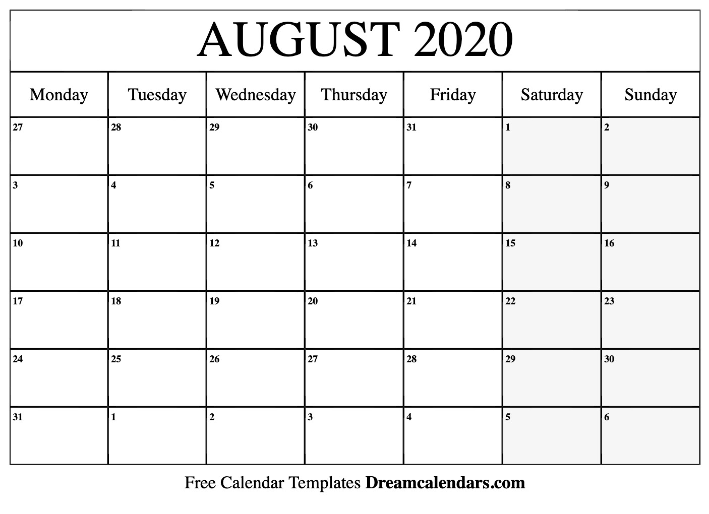 photo about Printable 2020 Calendar titled Ko-fi - Printable August 2020 Calendar - Ko-fi ❤️ The place