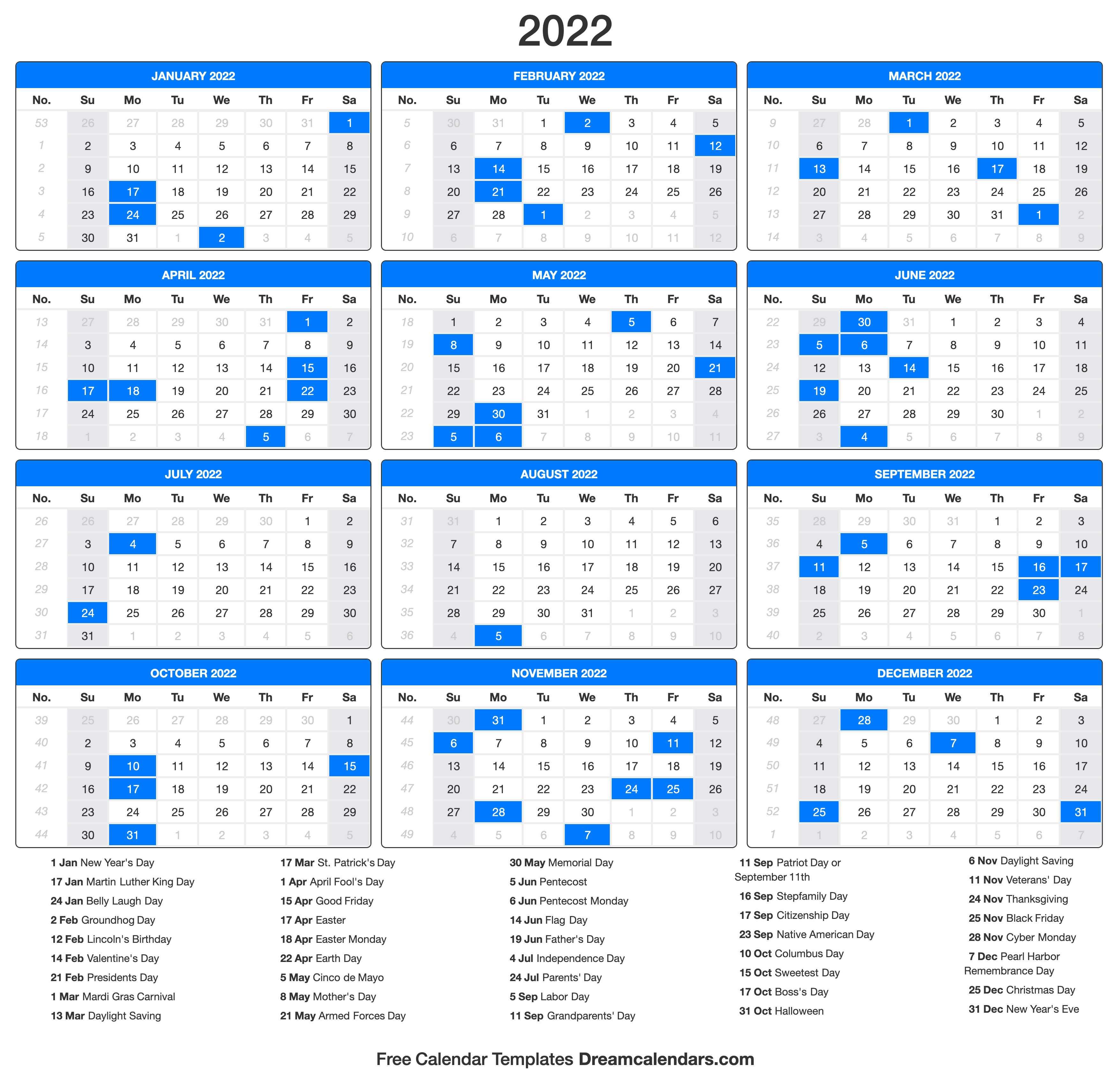 Moon Calendar February 2022.2022 Calendar