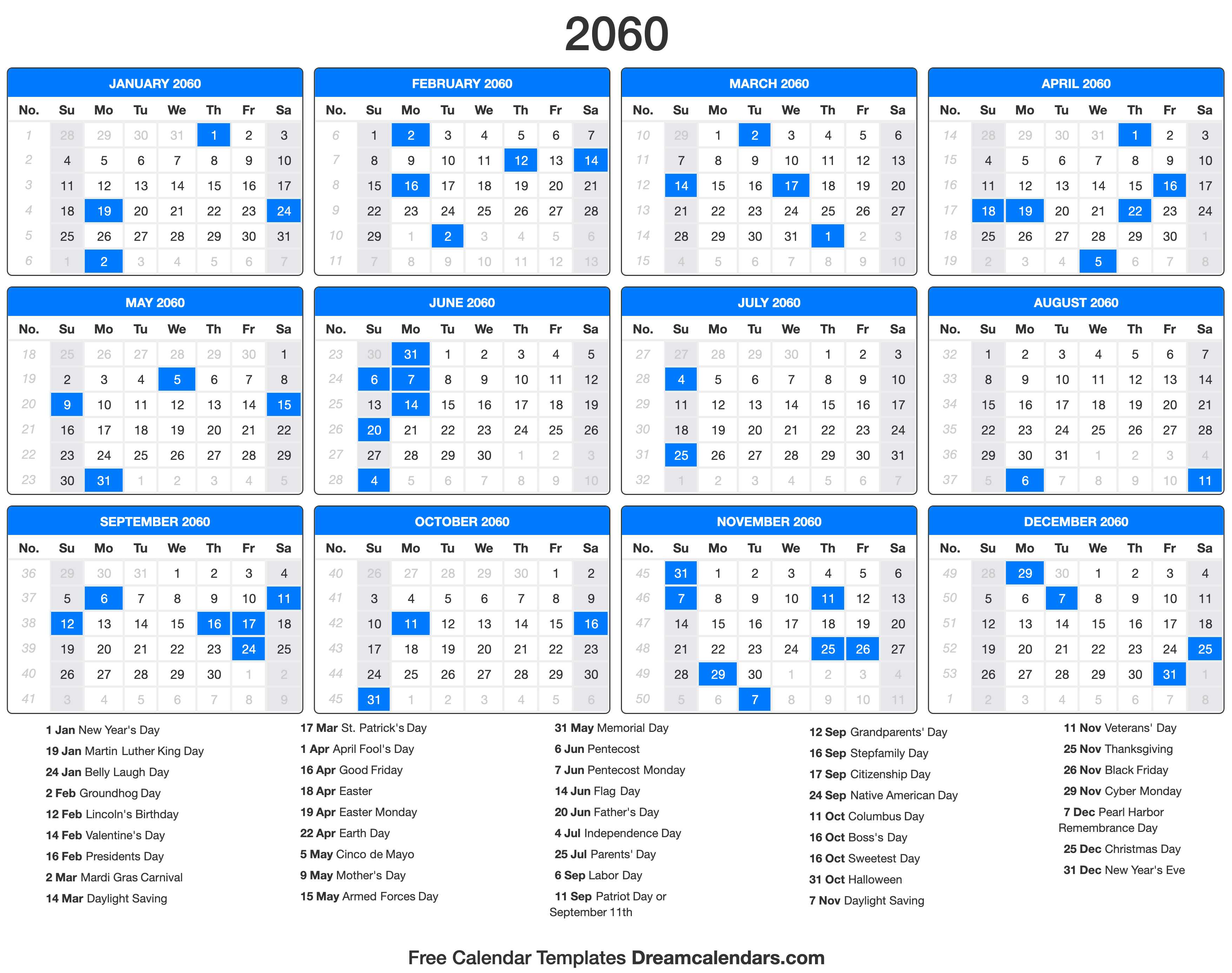 Moon Calendar October 2022.2060 Calendar